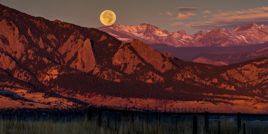 Mesa Harvest Full Moon Set