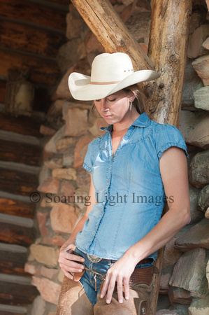Cowgirl In Thought